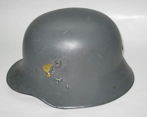 Austrian Gendarmerie Helmet: what's the vibe?