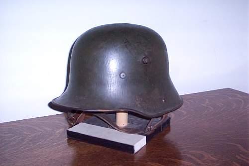 M16 stahlhelm - original shell?