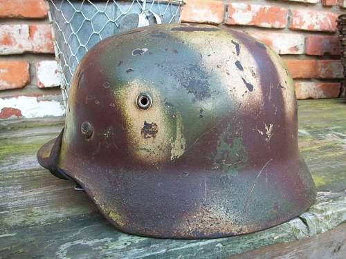 fake normandie helmet?