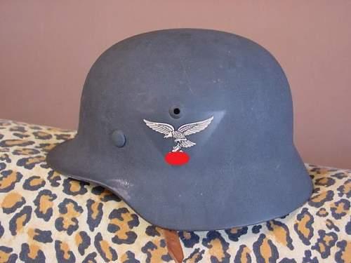 original Luftwaffe M35 helmet???
