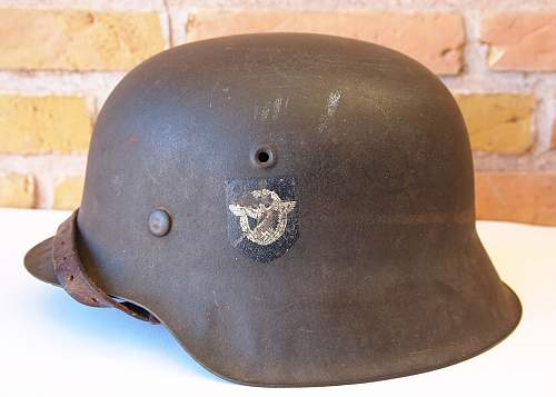 Anyone need a M40 - Q64 police helmet? ....nice condition!