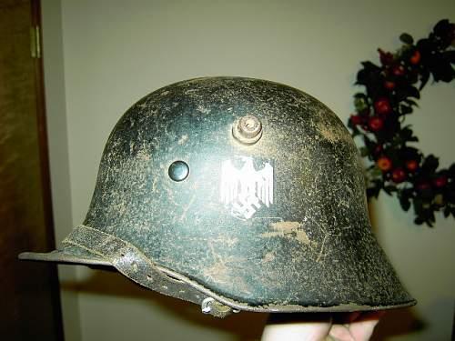 Real or Replica German Helmet?