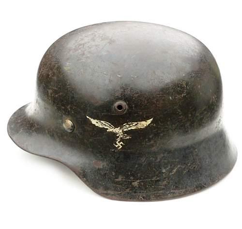 Please help -m42 luft helmet - flight crew?