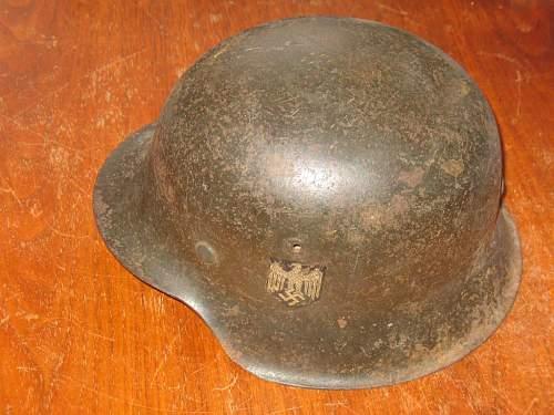 Sad helmet