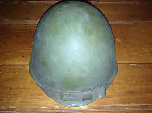 Russian ssh-40 helmet, WW2 or post war?