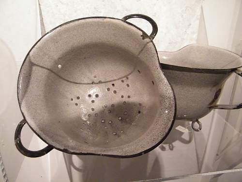 Making Pots From German Helmets 1946