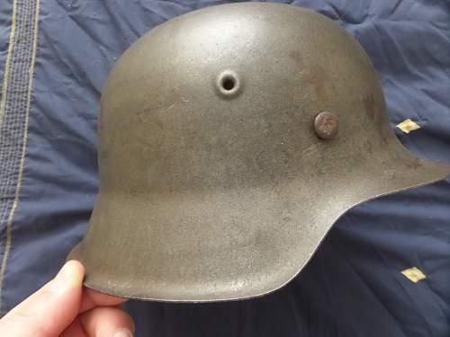 Small size late war m42 helmet
