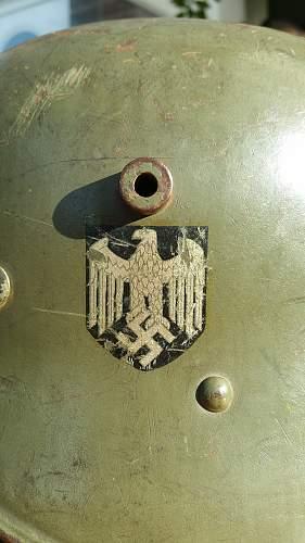 Transitional Austrian Heer DD M16