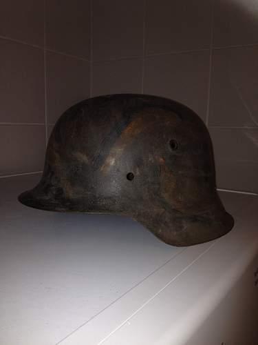 Camo + whitewash camo helmet opinion