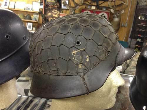 France SS steel helmet...opinions please