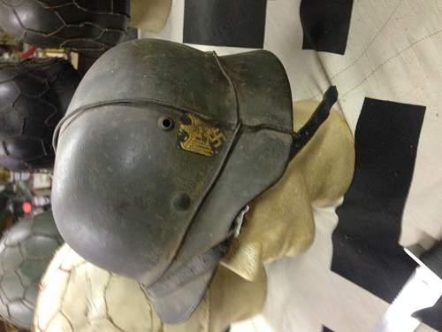 WWII German NAVY steel helmet