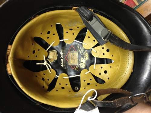 WWII German FIREMAN steel Helmet.  Opinions please!