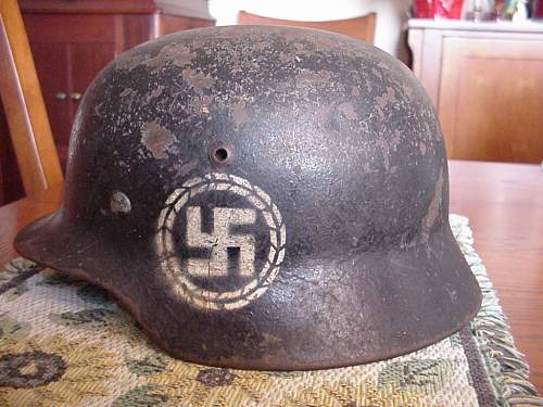 Assistance with M-35 Helmet Identification