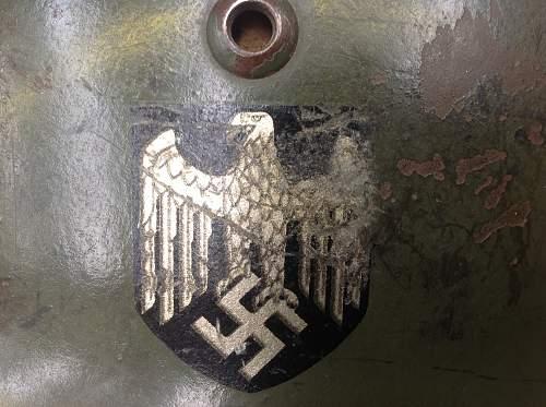 Heer M35 Double Decal