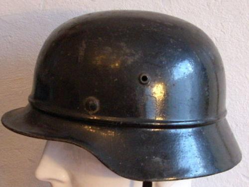 Black M35 Beaded Helmet