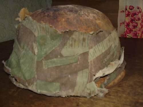 M 35 DD white camo untouced from attic