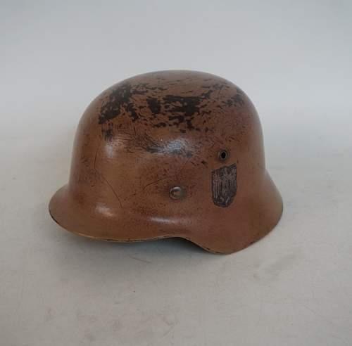 DAK Helmet Fake?