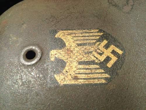 Kriegsmarine or heer decal?
