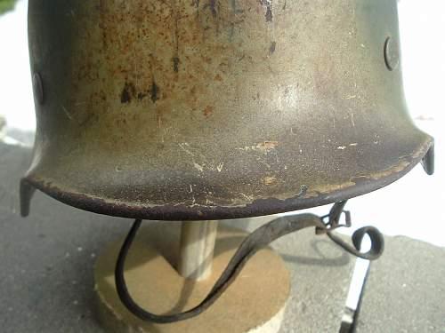 WW2 German cammo pattern barn find...real deal?
