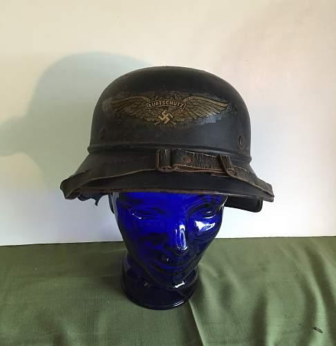 Estate Sale German Helmet Questions