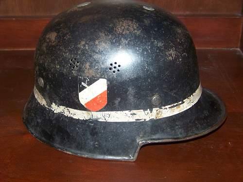 M34 DD snakeleg crash crew helmet