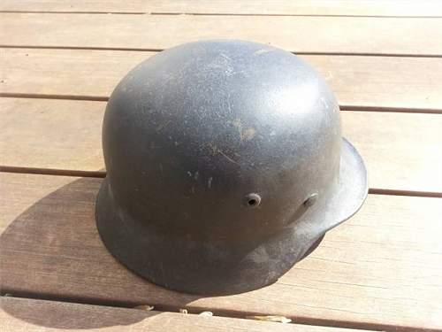 New Collector Needs Advice On a M40 SD Luft Helmet.....