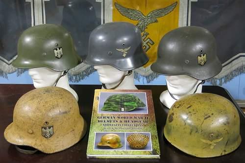 new helmet book of Norway captured helmets
