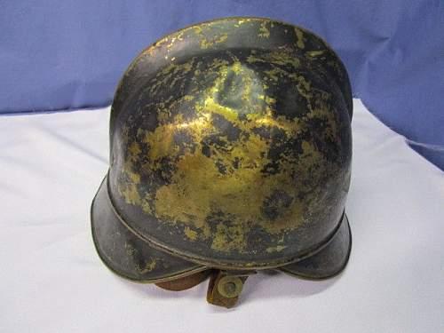 Has anyone seen a luftschutz helmet like this?