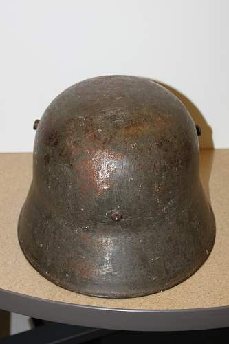 Can someone help me identify the model of this German Helmet?