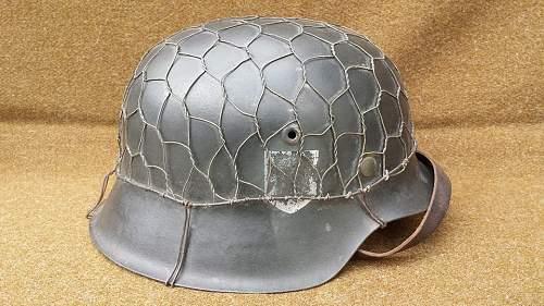 chicken wire ex ss helmet?