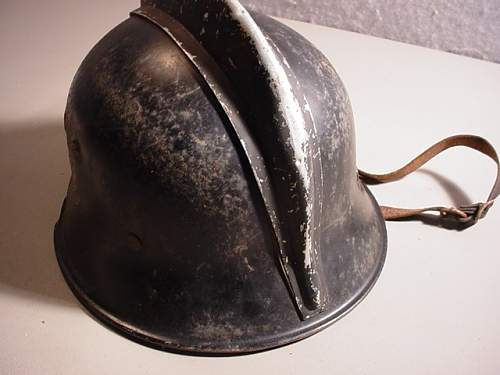 M34 firemans helmet, what are the markings?