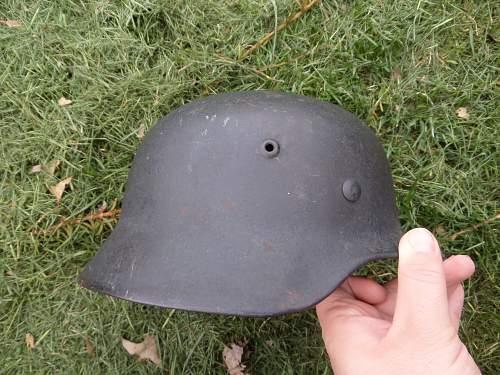 My first helmet!