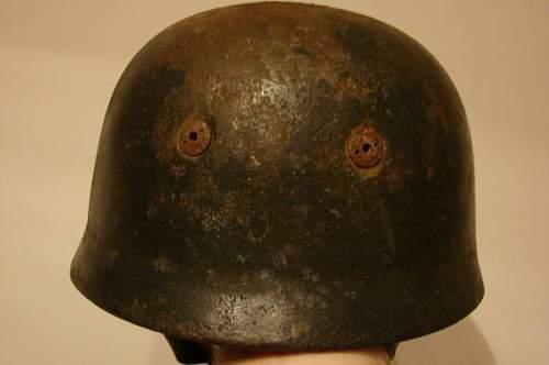 Fallschirmjager M38 Helmet, ET68