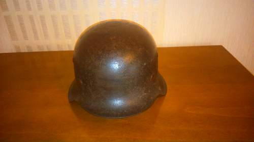 Doubt about my new M42 German Helmet