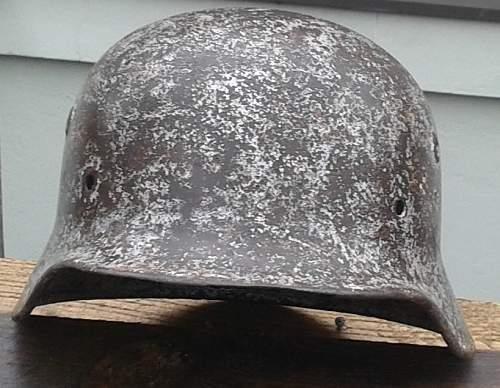 Unidentified eagle on helmet?!
