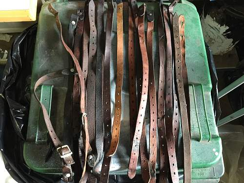 M 35, 40, 42 chinstraps restoring