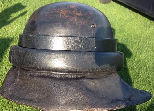 German tankers helmet??