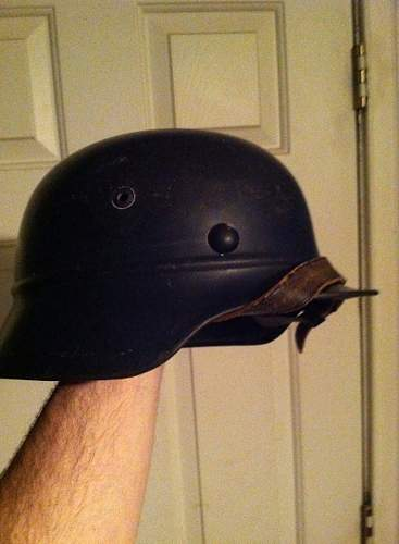 m35 beaed helmet looks great now