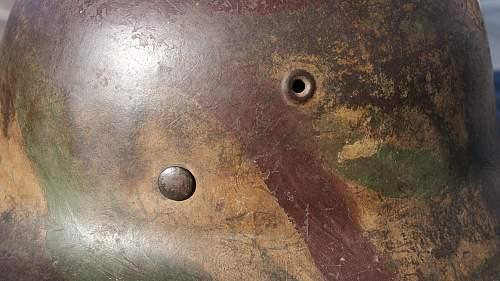 M42 CKL HEER camo # 4049 found in a basement
