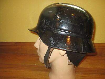 thoughts on this german m40 beaded helmet