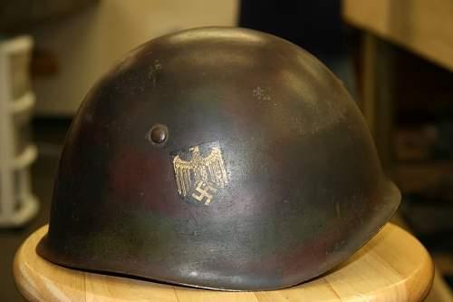 Italian Kriegsmarine helmet
