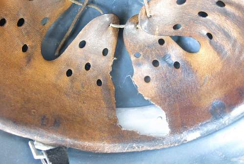 1st Pattern Luftwaffe M35 woodchip cammo ET 62 helmet