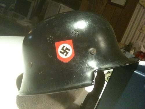 German Helmet