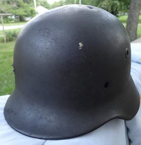 M-40 Battle Damaged helmet