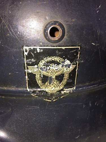 Need opinions on this m35 beaded police helmet