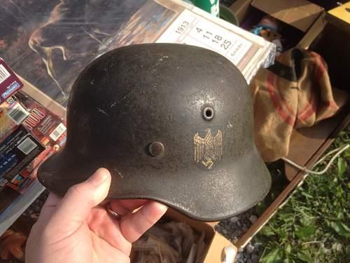 M40 SD Kriegsmarine Helmet for Review