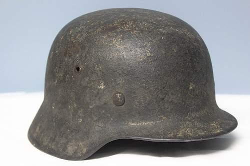 Camo helmet need thoughts. Kinda rough and wierd looking