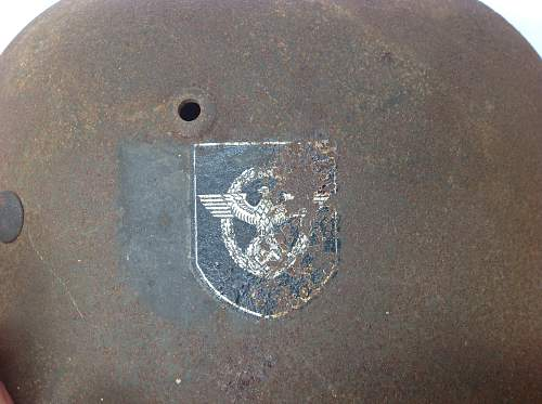 Police double decal M35
