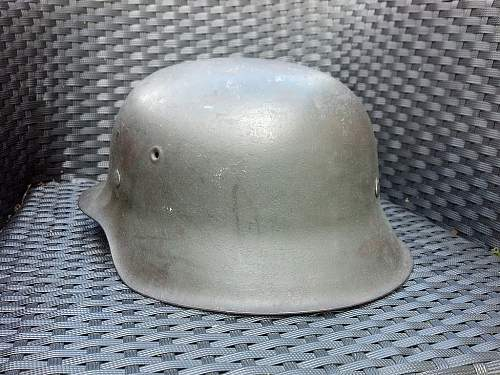 """M42 ND CKL66 - """"new"""" helmet for my collection."""