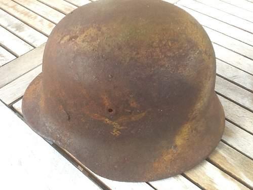 ww2 camo helmet opinion